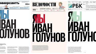 Russland: Solidarität für Iwan Golunow