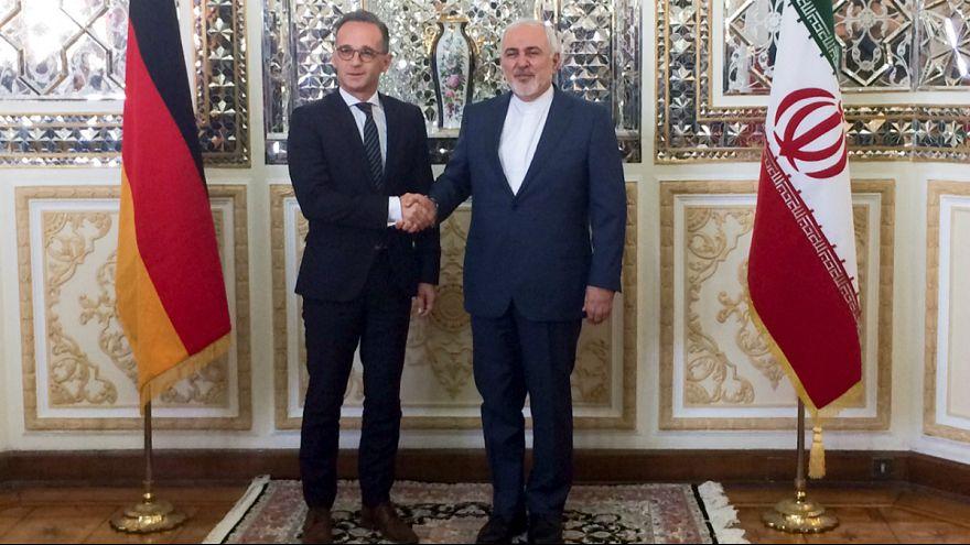 سفر هایکو ماس، وزیر خارجه آلمان به تهران و دیدار با ظریف