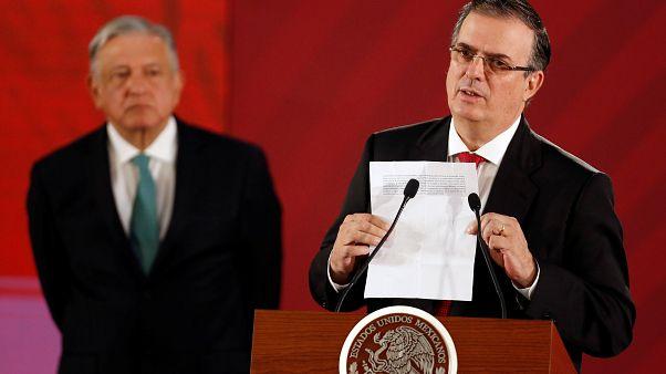 México logra un plazo de 45 días para evitar los aranceles de Trump