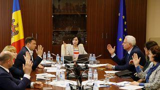 """Moldavie : """"Nous devons nous débarrasser du régime oligarchique"""""""