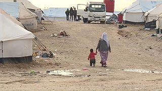 Camp de al-Hol, en Syrie