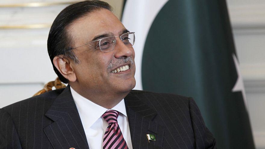 Eski Pakistan Cumhurbaşkanı Asıf Ali Zerdari