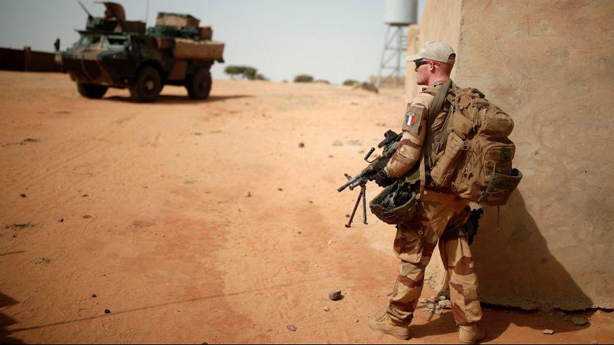 گشت زنی نیروهای ارتش فرانسه در مناطق شمالی کشور مالی