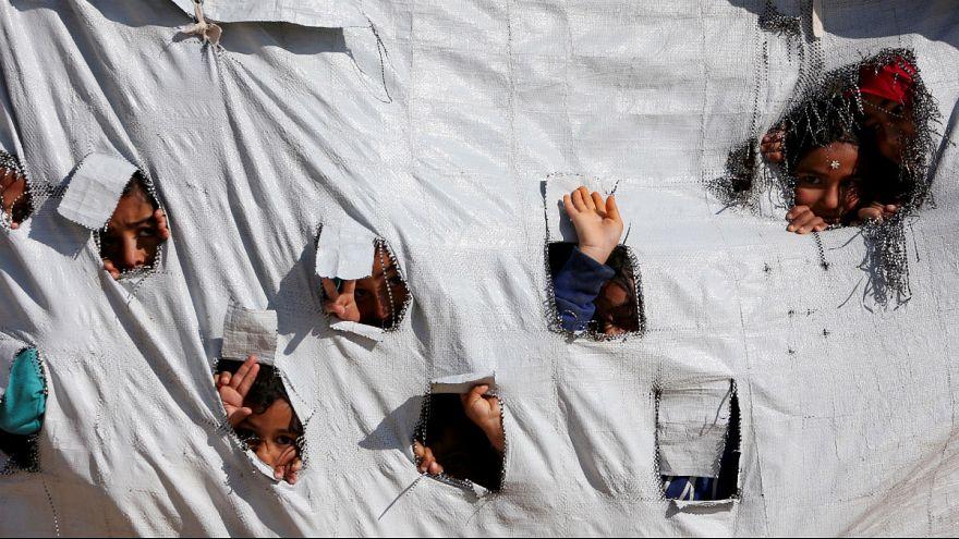 ۱۲ کودک یتیم جهادگرایان داعش از سوریه به فرانسه بازگردانده شدند