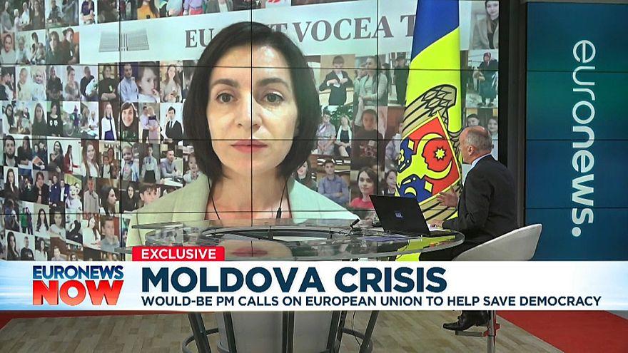 Moldova would-be PM calls for EU's help amid political crisis