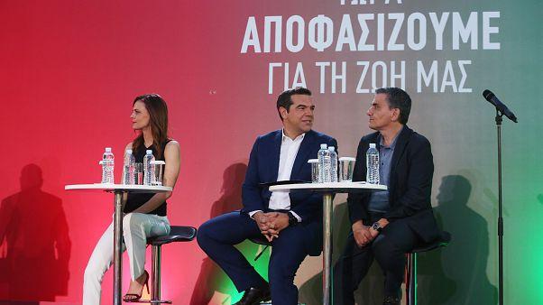 Το πρόγραμμα του ΣΥΡΙΖΑ παρουσίασαν Τσίπρας και υπουργοί
