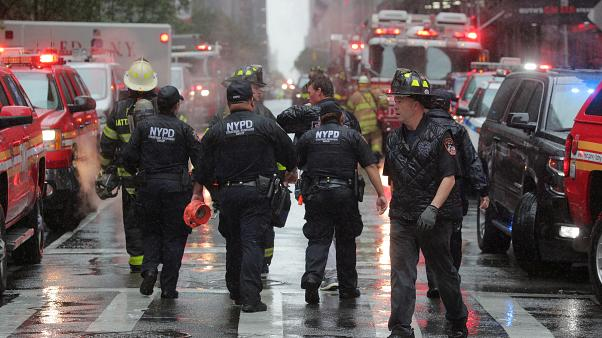 Un muerto tras el aterrizaje forzoso de un helicóptero en Nueva York