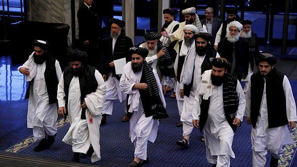 نمایندگان طالبان در گفتگوهای صلح مسکو