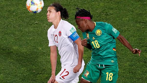 2019 Women's World Cup: Canada beat Cameroon 1-0