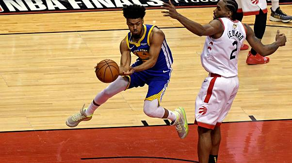 Golden State Warriors v Toronto Raptors