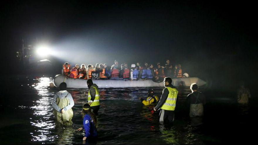 نجات پناهجویان در لزبوس یونان (عکس آرشیوی)
