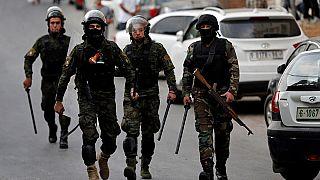 أفراد من الأمن الفلسطيني - أرشيف