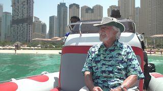 Deep sea explorer Jean-Michel Cousteau teaches UAE children about ocean conservation
