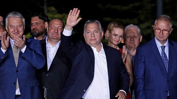 Orbán Viktor a választás éjszakáján - új idők jönnek?