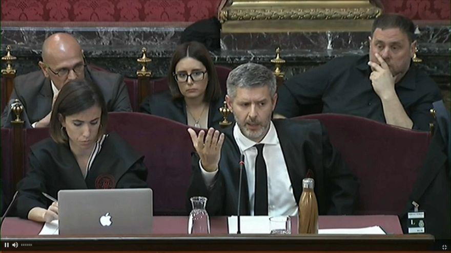 El juicio por el 'procés' independentista en Cataluña, en su recta final