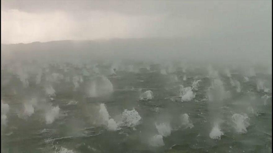 ویدئو؛ بارش دانههای تگرگ به قطر ۵ سانتیمتر در جنوب آلمان