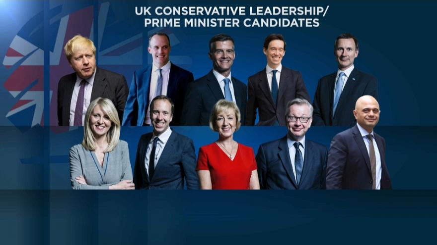 Dix candidats pour succéder à Theresa May (et gérer le Brexit)