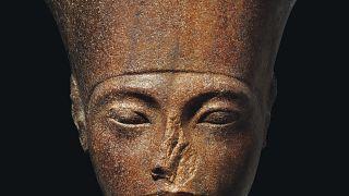 Egypt tries to halt the auction of Tutankhamun statue in London next month