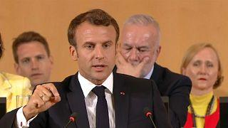 """Conférence de l'OIT : Macron dénonce un """"capitalisme fou"""""""