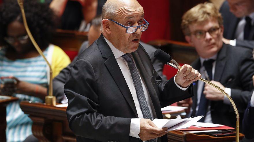 Fransa Dışişleri Bakanı Le Drian'dan, ikili ve bölgesel konuları görüşmek üzere Türkiye ziyareti