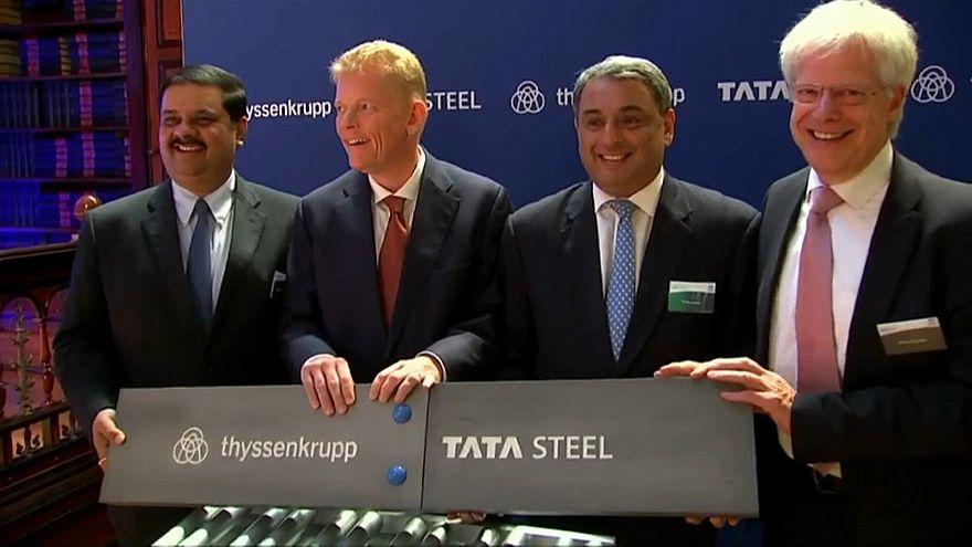 Les géants de l'acier Tata et Thyssenkrupp ne fusionneront pas