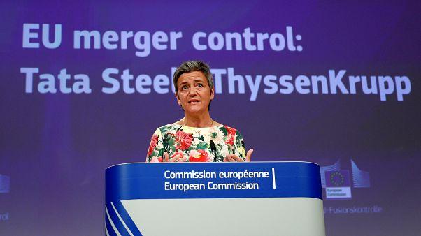 ΕΕ: Σταμάτησε την συγχώνευση Tata - Thyssenkrupp