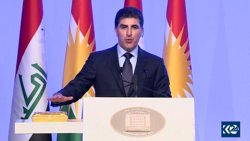 نچیروان بارزانی بهعنوان رئیس اقلیم کردستان عراق سوگند یاد کرد