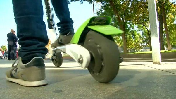 Primera víctima mortal de patinete eléctrico en París