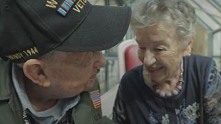 Enamorados durante la Segunda Guerra Mundial se reencuentran 75 años después