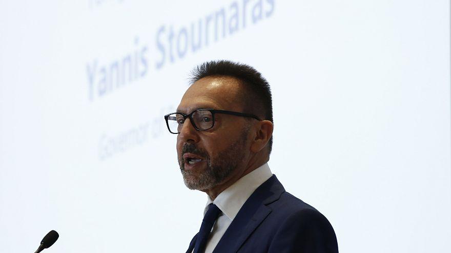 Ο διοικητής της Τράπεζας της Ελλάδος, Γιάννης Στουρνάρας