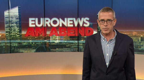 Euronews am Abend vom 11.06.: Bergung in Budapest und extremer Hagel