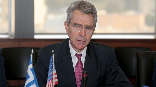 O Αμερικανός Πρέσβης στην Ελλάδα Τζέφρυ Παίατ