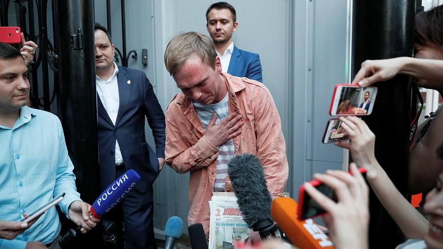Rússia liberta jornalista Ivan Golunov