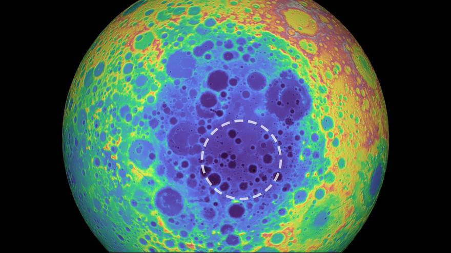A mysterious mass has been discovered beneath the largest crater in our solar system.