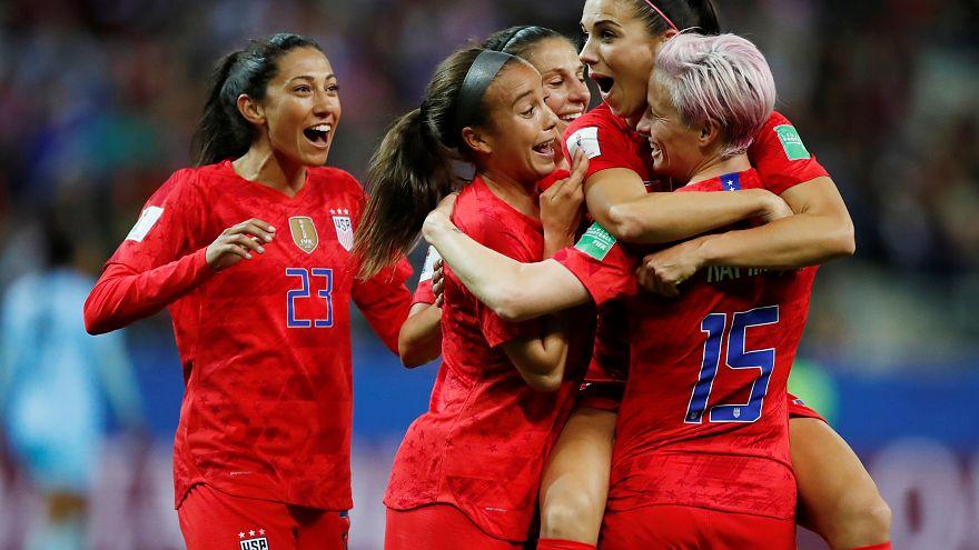 FIFA Kadınlar Dünya Kupası: ABD rekor kırdı, Tayland kalesine tam 13 gol