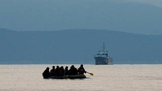 Eight migrants drown at sea off the coast of Turkey after boat overturns