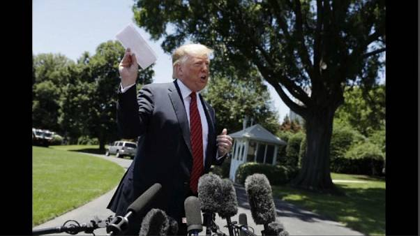 """Trump diz ter """"acordo secreto"""" com México"""