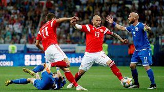 Euro 2020: Ηττα Εθνικής Κύπρου με 1-0 από Ρωσία