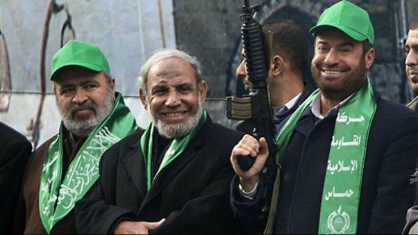 عضو المكتب السياسي لحركة حماس محمود الزهار