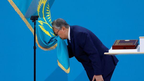 Инаугурация президента Казахстана