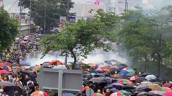 Scontri a Honk Kong: è rivolta