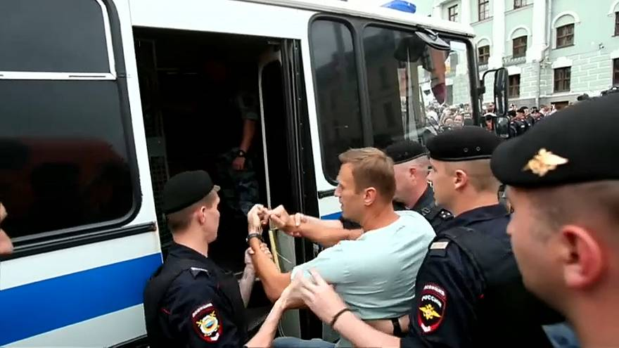 Solidarität mit Golunow: Mehr als 400 Festnahmen in Moskau