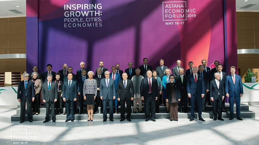 Astana Economic Forum: Sharing ideas for an urban, digital future that's focused on people
