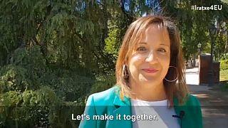 Una española, Iratxe García, aspira a liderar el grupo socialdemócrata europeo