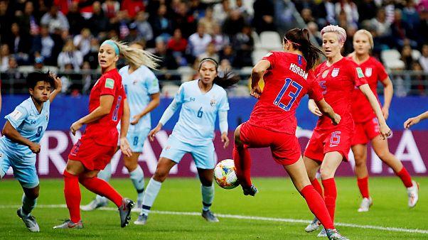 ABD 13-0'lık galibiyetle bir ilki başardı: Dünya Kupası'nda tarihe geçen farklı sonuçlar
