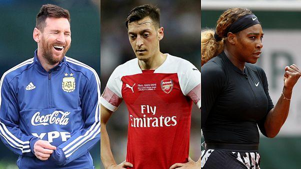 Dünyanın en fazla kazanan sporcuları: Messi zirvede, Özil 57'nci, ilk 100'de sadece bir kadın var