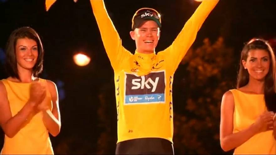 Chris Froome, Paris, 21/07/2013