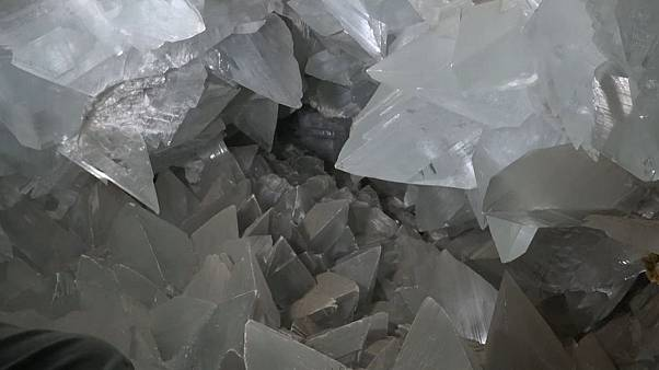 Giant crystal cave to accept first ever visitors