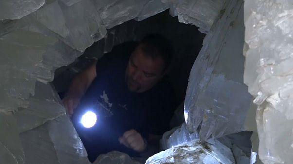 La grotta di cristallo più grande d'Europa