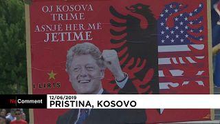 """بحضور كلينتون وقائد الناتو السابق.. كوسوفو تحتفل بمرور 20 عام على """"التحرير"""""""